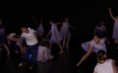 YDC performs a full company piece choreographed by dance teacher Annie Pinta in the Nov. 2019 concert.