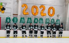 York Hockey celebrates 50 years at senior night