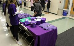 Dukes Shed Their Green for Purple to Support Relay for Life
