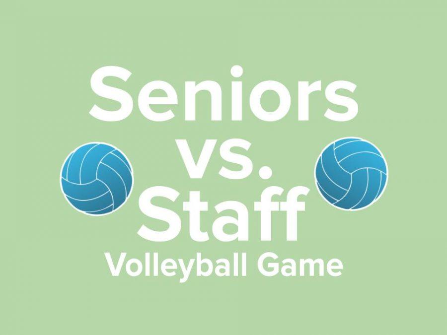 Senior/Staff Volleyball Game Sign-Ups