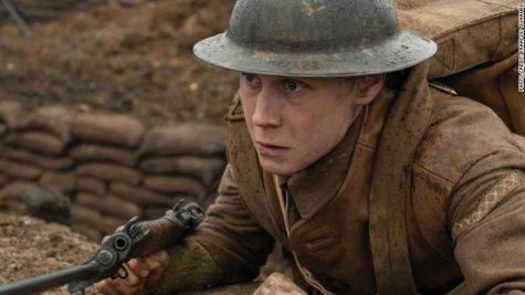 "George Mackay in Best Picture predicted winner, ""1917""."