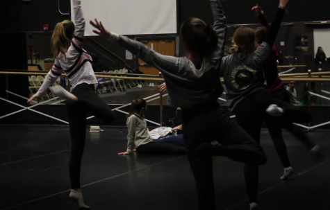 "YDC members dancing to the piece ""Rescue"" created by Laurel Baumann."