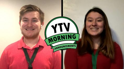 Monday, March 9th, 2020 | YTV Daily Announcements