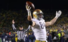 The Bears took Notre Dame tight end Cole Kmet 43rd overall in the NFL Draft on Friday night.