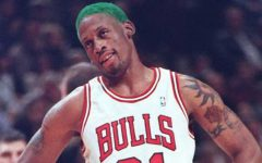 Dennis Rodman, the focus of Parts 3 and 4, was not only an explosive player on the court, but off the court as well