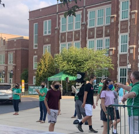 York welcomes Class of 2024 on first day of historic school year