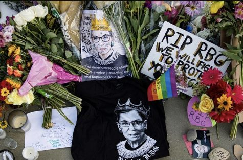 What did Supreme Court Justice Ruth Bader Ginsburg mean to York Community High School?