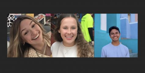 The class presidents for the 2020-21 school year are sophomore Avery Kendrick, junior Yash Singh and senior Olivia Ross.