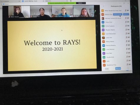 RAYS club meets to discuss ways they can help the community.