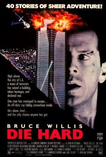 "The ""Die Hard"" poster from its 1988 release contains zero Christmas references. If not marketed as a holiday film, is it truly meant to be?"