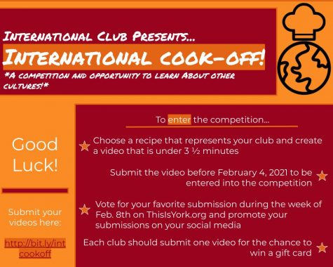 Enter your videos for the International Cook-Off