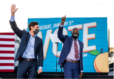 Democratic Senate candidates Jon Ossoff and Rev. Raphael Warnock defeated incumbent Republican Senators Kelly Loeffler and David Perdue in a runoff election this Wednesday.