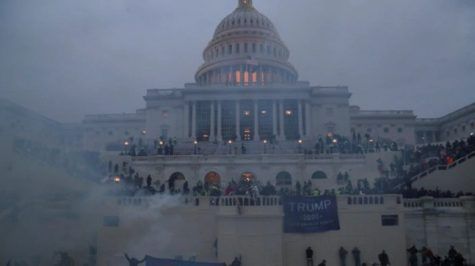 Trump supporters riot and break into the United States Capitol building on Jan. 6, 2021.
