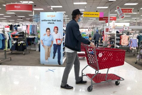 With more restrictions on shoppers and more strict safety precautions in place due to the pandemic, many student workers have found working more difficult than before.