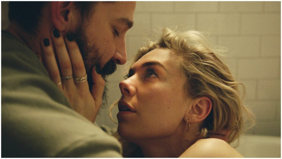 Still of Vanessa Kirby and Shia LaBeouf in