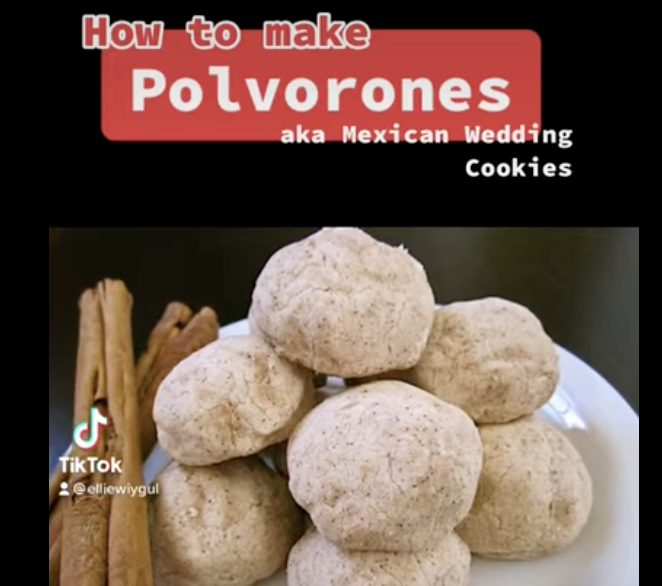 Spanish Club submits a recipe video on how to make Polvorones. Please vote for the best recipe in the google form linked in the story!