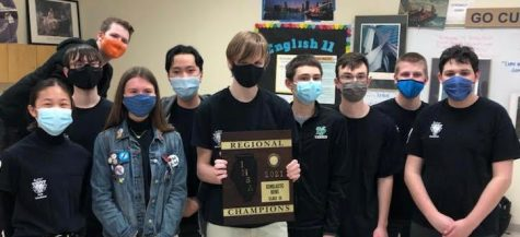 York's Scholastic Bowl takes 1st place in their regional competition March 8, 2021. Photo Courtesy of Andrew Bendelow.