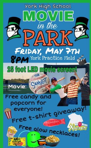 Movie in the Park on May 7th, The Sandlot