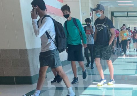 Students return to the halls of York for Summer School Session 1. After a year of mostly online school, 100% of all students enrolled in summer school are in-person. July 1, 2021