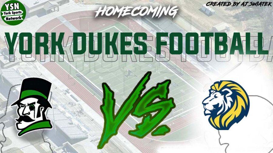 Dukes host Lyons Township for 2021 Homecoming Football Game