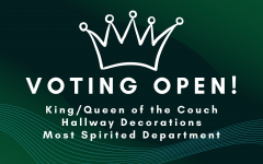Vote Here for King and Queen of the Couch, Hallway Decorating, and Most Spirited Department