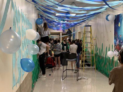 Boosted School Spirit as Clubs Decorate Hallways All Around York
